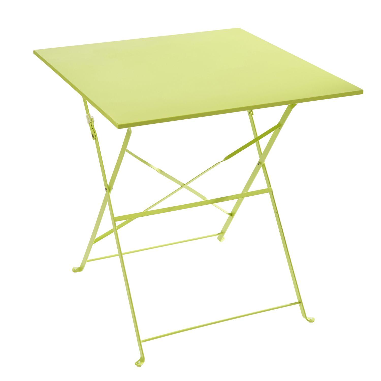Métal Vert Table Vente Achat Carrefour Pliante Pas Cher Xnw8O0Pk