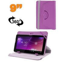 Yonis - Housse universelle tablette 9 pouces protection support 360° Violet