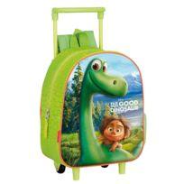 Le Voyage D'ARLO - Sac à roulettes maternelle 28 Cm trolley - Cartable The good Dinosaur
