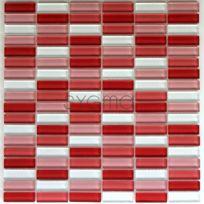 Sygma-group - mosaique pour mur et sol en verre mv-rec-rou