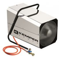 Kemper - Générateur d'air chaud à gaz 42KW réglable Radiateur soufflant à gaz tuyau et détendeur