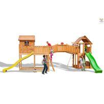 FUNGOO - Aire de jeux Maxi Plaza jaune
