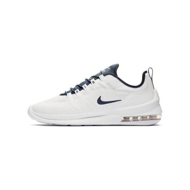 Nike Chaussures Air Max Axis blanc bleu marine pas cher