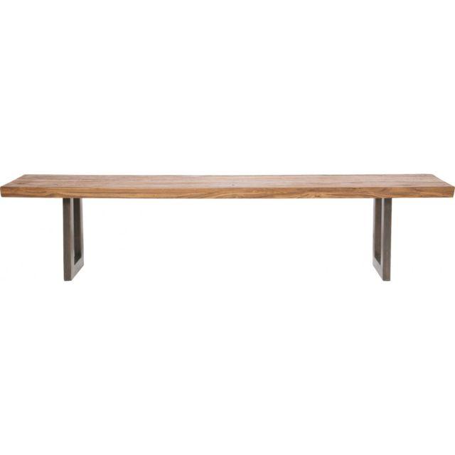 Karedesign Banc en bois Factory 200 cm Kare Design