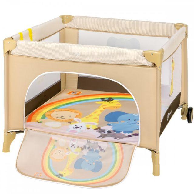 parc bébé beige