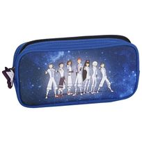Galactik Football - Trousse rectangulaire bleue