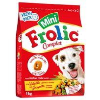 Frolic - Croquettes Complète Mini au Poulet pour Chien - 1Kg