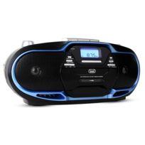 Trevi - Cmp 574 lecteur Cd Usb K7 radio Am/FM Aux -bleu