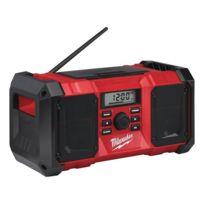 Milwaukee - Radio de chantier M18 JSR-0 - Sans batterie, ni chargeur - 4933451250