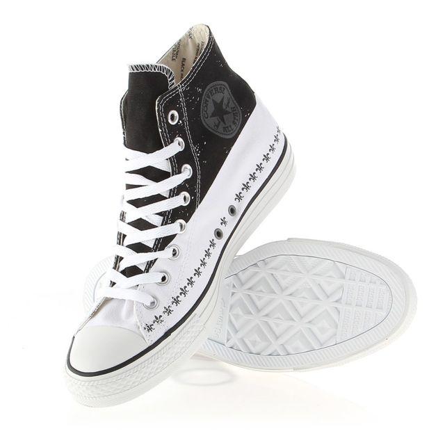 a47d0a39a75ed Converse - Chuck Taylor All Star Hi - pas cher Achat   Vente Baskets homme  - RueDuCommerce