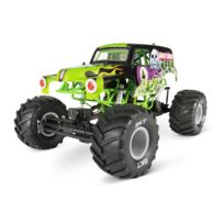 AXIAL - SMT10 Grave Digger Monster Jam Truck 4WD 1/10 ARTR - no battery, no charger