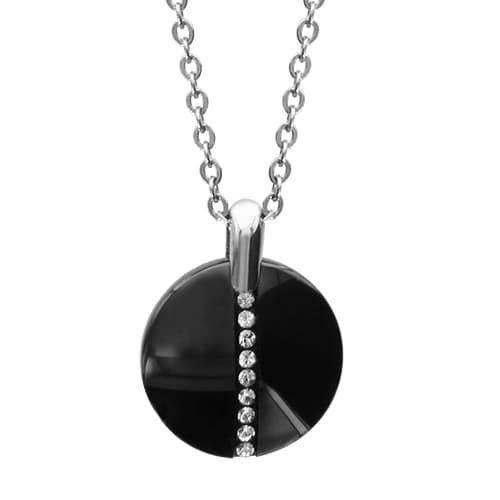 collier ceramique noire femme