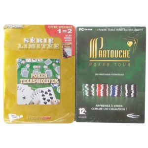 pack 2 jeux sp cial poker volume 2 jeux pc achat jeux pc dans le rayon jeux et consoles. Black Bedroom Furniture Sets. Home Design Ideas