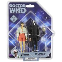 Underground Toys - 016148 - Dr. Who - 5'' Af Set - Peri And Sharaz Jek From The Caves Of Androzani