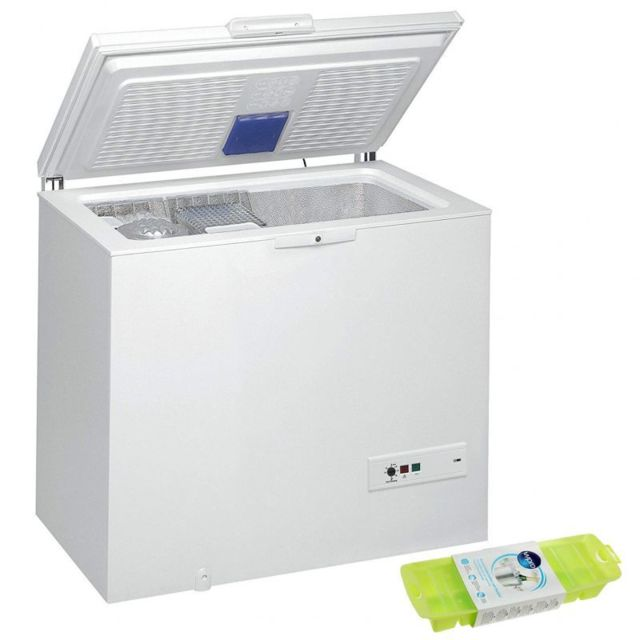 Whirlpool Congelateur Coffre 311L A++ Autonomie 45h Fermeture Serrure