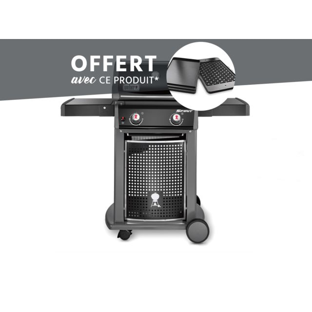 weber barbecue spirit e 210 classic plancha pas cher achat vente barbecues gaz. Black Bedroom Furniture Sets. Home Design Ideas