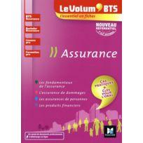 Foucher - le volum' ; Bts ; assurance - Bts, bachelor, licence pro, formation pro - révision et entraînement