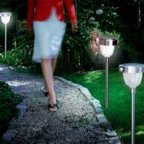 Sunny Trend - Borne solaire 1W avec détecteur de mouvement
