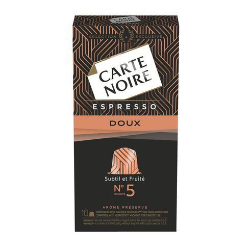 Carte Noire Capsules Delicat n°5 - Boite de 10