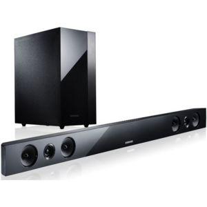 samsung hw f450 zf barre de son 2 1 caisson de basse sans fil bluetooth 280w 3d. Black Bedroom Furniture Sets. Home Design Ideas