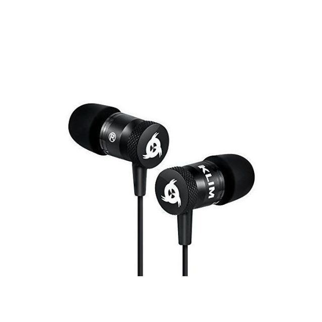 KLIM Ecouteurs gaming intra-auriculaire FUSION noir Ecouteurs gaming intra-auriculaire FUSION noir