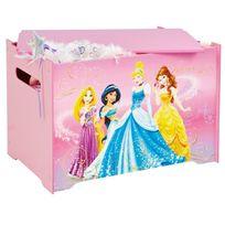Comforium - Coffre à jouets pour fille Princesse Disney