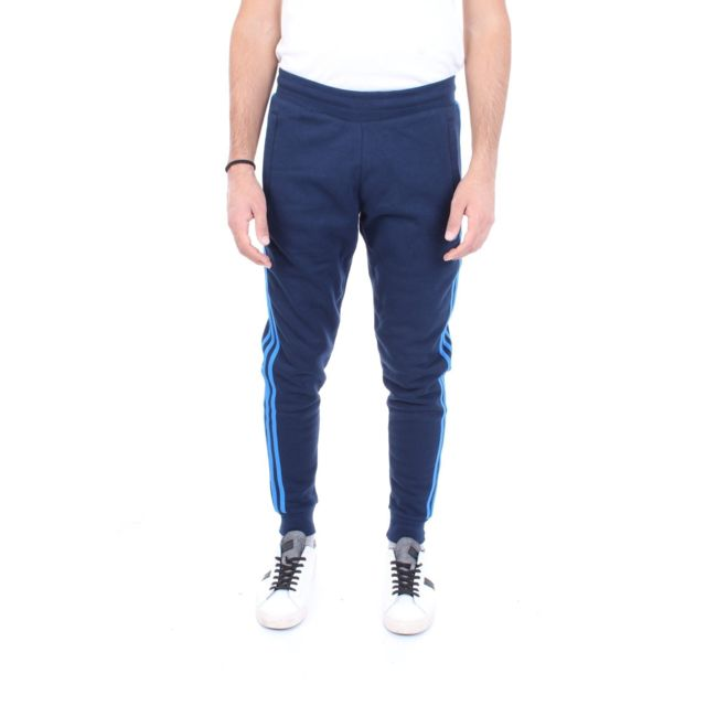 Homme Ek0263 Bleu Coton Pantalon