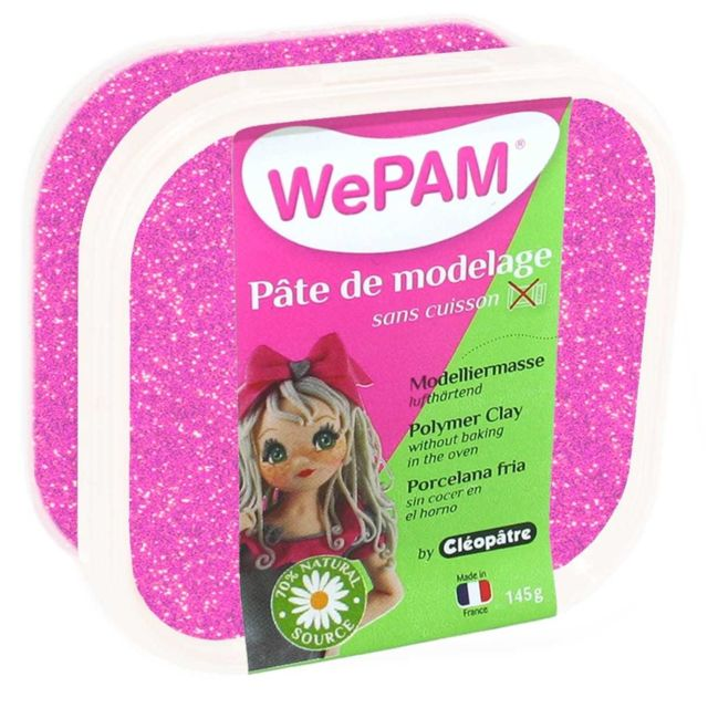 Porcelaine froide à modeler WePam 145 g Chair poupée WePam