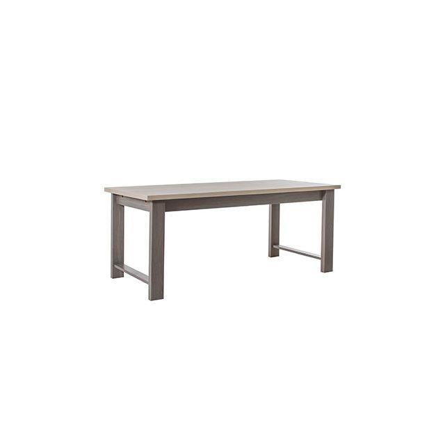 Table repas 180x74x90cm naturel - Cassandre