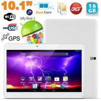 Yonis - Tablette tactile 3G 10.1 pouces Android 4.4 Dual Sim 16 Go