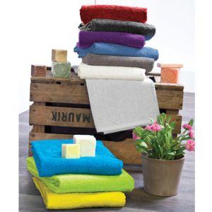 stof serviette de bain lola 70 x 130 cm 420 gr blanc pas cher achat vente serviettes. Black Bedroom Furniture Sets. Home Design Ideas