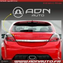 Adnauto - Autocollant - Logo horizontal - Argent - 11.5cm - Adnlifestyle