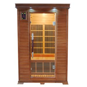 france sauna sauna infrarouge luxe 2 monophas 2 places. Black Bedroom Furniture Sets. Home Design Ideas