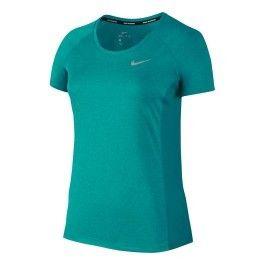 NIKE Tee shirt FEMME DRI FIT Vert Femme |