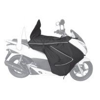 Bagster - tablier protection hiver Boomerang pour Honda 125 Pcx 2010 2017 - Xtb120