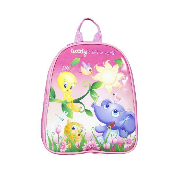 TITI Mini sac à dos - 29 cm - Rose - Maternelle Polyester 300D - 1 compartiment