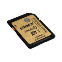 KINGSTON - Carte Mémoire SDXC - 64 Go - Classe 10 UHS-I Ultimate