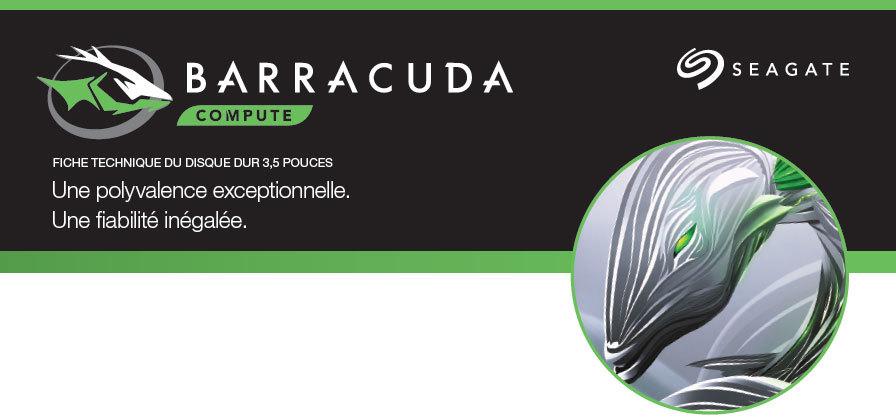 """Disque dur BarraCuda 8 To 3.5"""" Cache 256 Mo Seagate"""