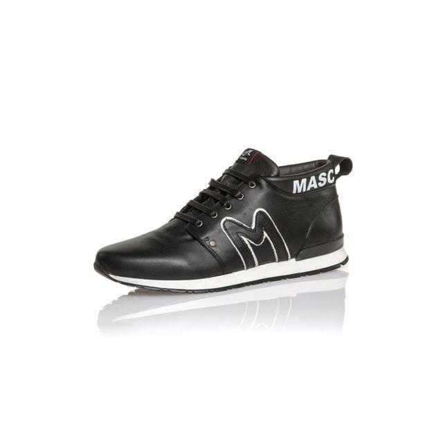 BLZ Jeans Basket noire avec imprimés