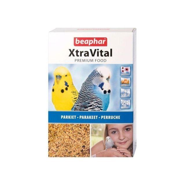 Beaphar Alimentation complete XtraVital - Pour perruches - 1kg