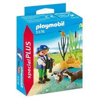 Playmobil - 5376-Enfants avec loutre