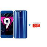 HONOR - 9 - Bleu + Micro SD 64 Go + Coque Transparente