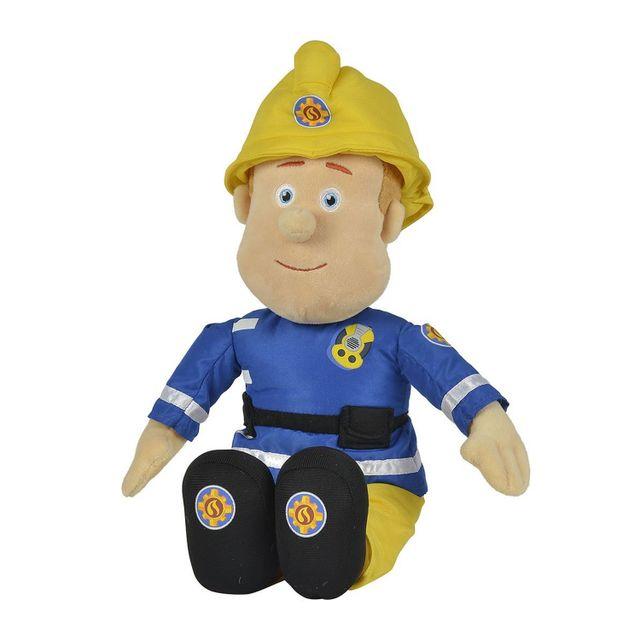 Simba - Peluche Sam Le pompier 45 cm