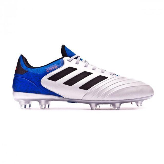 Adidas Copa 18.2 Fg Silver Metallic Core Black Football Blue Pas WLQey99G