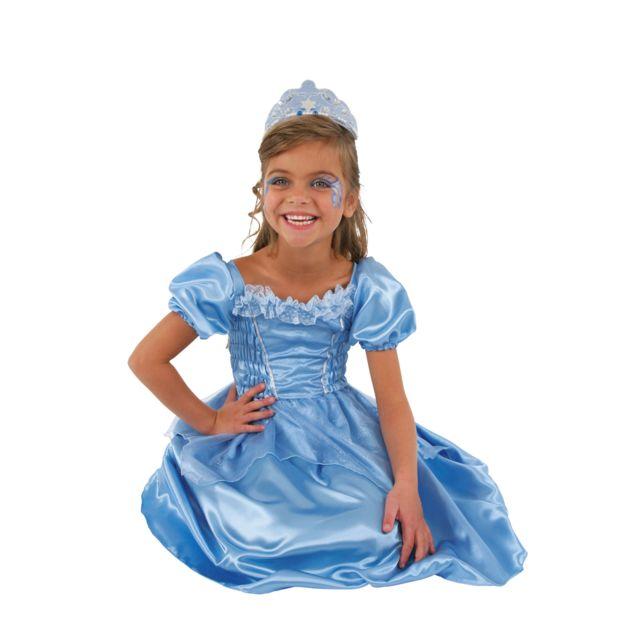 c sar d guisement petite princesse bleue3 5 ans 94 108 cm pas cher achat vente. Black Bedroom Furniture Sets. Home Design Ideas
