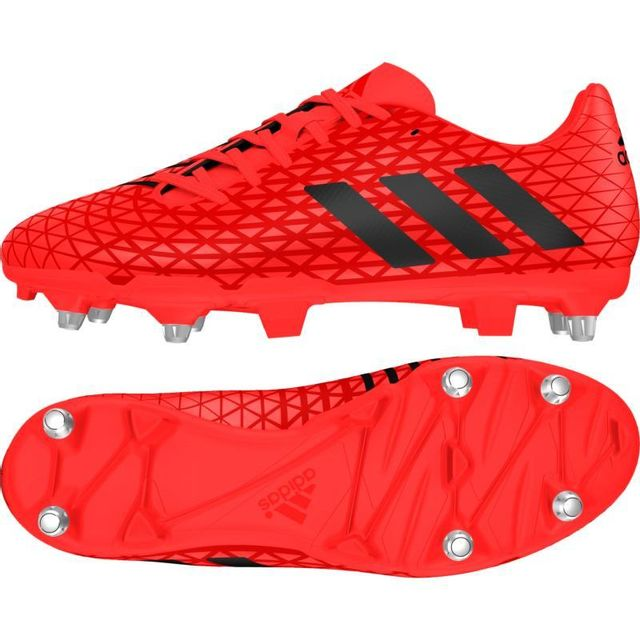 adidas Performance MALICE SG Rouge Chaussure pas cher