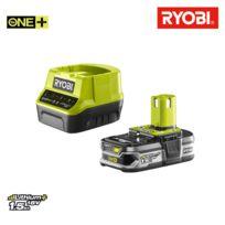 Pack batterie 18V OnePlus 1.5Ah LithiumPlus et chargeur rapide 2.0Ah RC18120-115