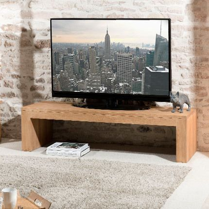 banc tv hambourg bois naturel sebpeche31. Black Bedroom Furniture Sets. Home Design Ideas