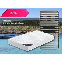 Altobuy - Ibiza - Pack Matelas + AltoZone 90x200
