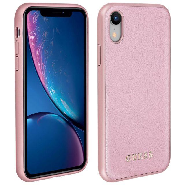 coque iphone xr avec rose